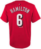 Majestic Billy Hamilton Cincinnati Reds Player T-Shirt, Big Boys (8-20)