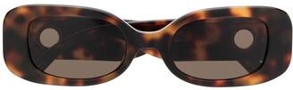 Linda Farrow Lola tortoise-shell sunglasses