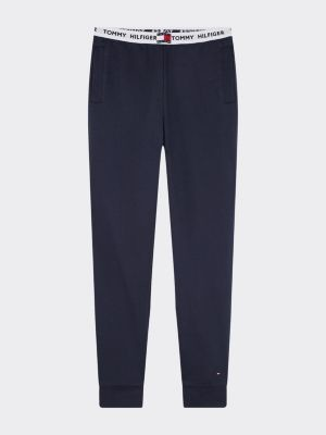 Tommy Hilfiger Logo Tape Pure Cotton Joggers