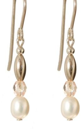 Ardent Designs Pearl 'Sweet Mya Valentine' Gold Fill Earrings