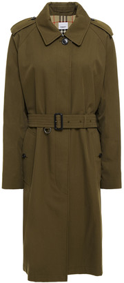 Burberry Crossway Cotton-gabardine Trench Coat