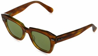 Ray-Ban Women's RB2186 State Street Square Sunglasses Non Polarized