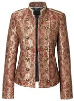 Banana Republic x Olivia Palermo | Brocade Military Jacket