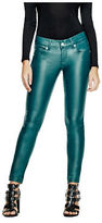 GUESS Women's Lanori Coated Skinny Jeans