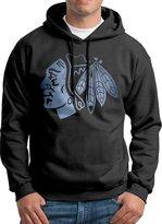 LCIABDI Men's Chicago hawks Pond Logo Hooded Sweatshirt