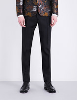 DSQUARED2 Tokyo-fit tapered wool and silk-blend trousers