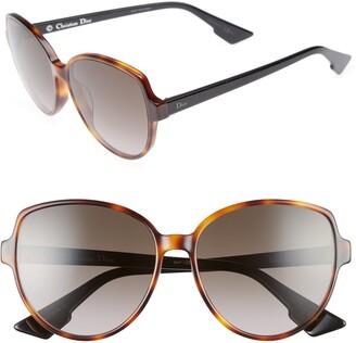 Christian Dior 58mm Onde Sunglasses Sunglasses