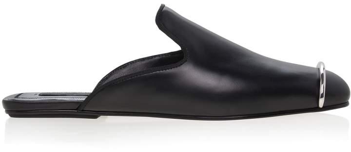 Alexander Wang Jaelle Leather Slides