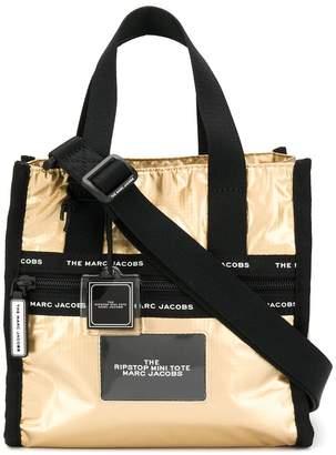 Marc Jacobs Ripstop metallic mini tote bag
