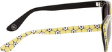 Opening Ceremony Yellow Floral Cat Eye Sunglasses