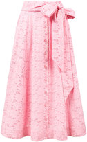 Lisa Marie Fernandez eyelet beach skirt - women - Cotton - 1