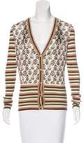 Gucci Silk & Wool-Blend Cardigan