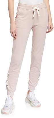 Marc Ny Performance Lace-Up French Terry Joggers
