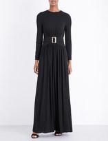 Burberry Federical jersey maxi dress