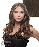 Hair U Wear Tru2Life Styleable Extensions - 23 Inch Wavy Clip In Extension - R10-Chestnut/Light Brown