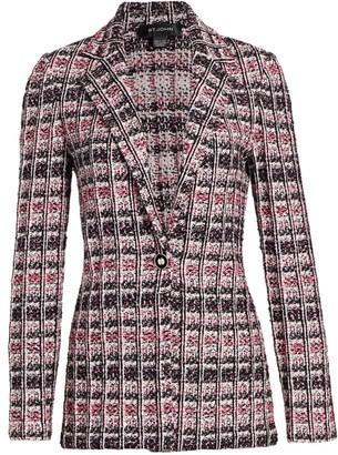 St. John Monarch Tweed Knit Jacket