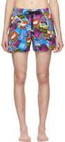 Vilebrequin Blue Queen Tour Moorise Swim Shorts