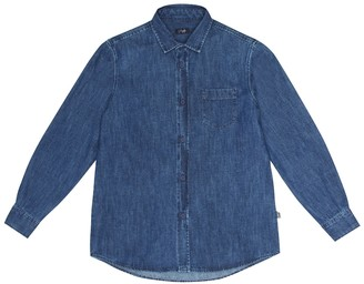 Il Gufo Denim shirt