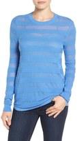 MICHAEL Michael Kors Women's Sheer Stripe Top