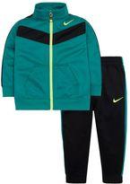 Nike Boys 4-7 Colorblocked Tricot Tracksuit Jacket & Jogger Pants Set