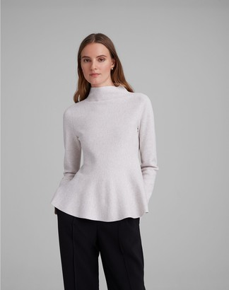 Club Monaco Milano Peplum Sweater