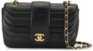 Chanel Pre-Owned quilted double flap shoulder bag