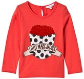 Little Marc Jacobs Red Print Tee