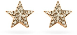 Selim Mouzannar Istanbul Diamond & 18kt Gold Stud Earrings - Pink Gold
