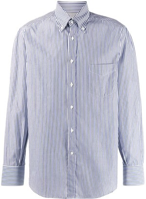 Brunello Cucinelli Striped Fitted Shirt