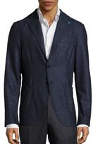 Eidos Augusto Unconstructed Wool Blend Sport Jacket