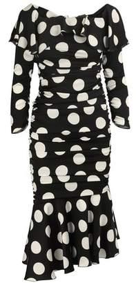 Dolce & Gabbana Silk midi dress