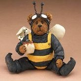 Boyd's Boyds Shoe Box Bee Bear Buzzby Q. Bear 3256