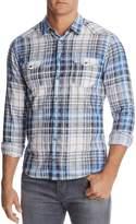 BOSS ORANGE Erodeo Plaid Slim Fit Western Button-Down Shirt