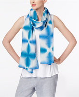 Eileen Fisher Linen Printed Scarf