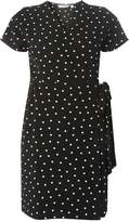 Dorothy Perkins Petite Spot Print Wrap Dress