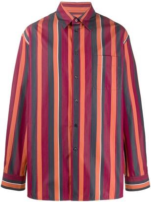Marni Striped Oversized Shirt