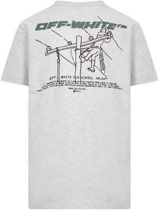 Off-White Trellis Worker T-shirt
