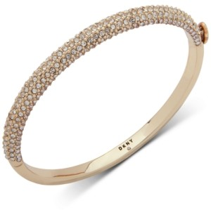 DKNY Ombre Pave Bangle Bracelet, Created for Macy's
