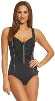 Reebok Women's Metallic Tank One Piece Swimsuit 8151510