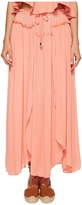 Bishop + Young Front Slit Maxi Women's Dress