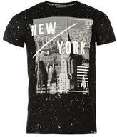 Fabric City Splatter T Shirt Mens