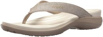 Crocs Women's Capri V Shimmer Flip Flop