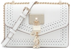 Thumbnail for your product : DKNY Elissa Large Leather Shoulder Bag