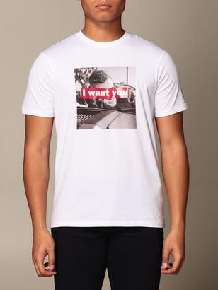 Armani Exchange T-shirt With I Want You Print