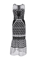 Jonathan Simkhai Embroidered Organza Gown