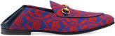 Gucci Geometric Skulls print loafers