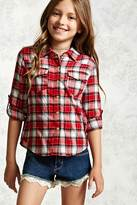 Forever 21 Girls Plaid Shirt (Kids)