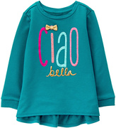 Gymboree Teal 'Ciao Bella' Ruffle-Accent Tunic - Infant & Toddler