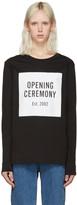 Opening Ceremony Black Box Logo T-shirt