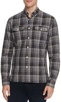 Saturdays NYC Javas Flannel Plaid Slim Fit Button-Down Shirt